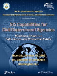 GIS event poster